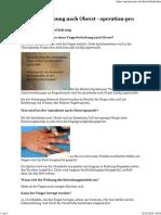 Finger-Betäubung nach Oberst - operation-pro