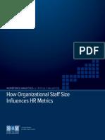 Organizational Staff Size