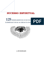 Sucesso Espiritual - 125 ensinamentos ocultos que iluminam a nossa vida