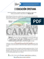 Pilar de Educacion Cristiana