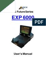 EXp6000 Manual en-metal Detector