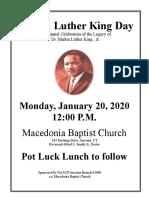 ANSONIA MLK Flyer 2020