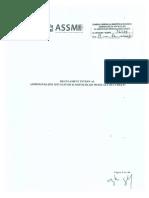 Regulament intern ASSMB