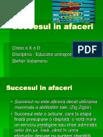 succesul in afaceri.ppt