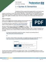 Lab 06 - Python plus Syntax and Semantics [Answers].pdf