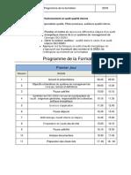 Programme détaillé-Audit interne 50001