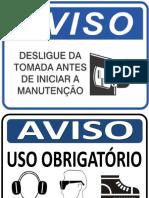NR26 - SINALIZAÇÃO - PLACAS - R7