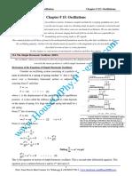 Chapter 15 Oscillations version 2