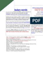 5000 de Cuvinte SAT
