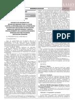 Decreto de urgencia N° 002-2020