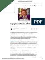 (20) Segregation of Duties in SAP explained _ LinkedIn