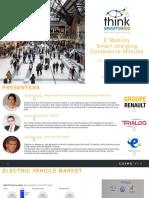 20190912 Smart Charging Conference Minutes - Think Smart Grid V2