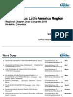 Ecuador Chapter Report - RCCC 2016