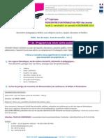 Programme RDV Des Jeunes - Paris 2010
