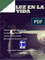 Tesis de Licenciatura en Psicologia - Una Luz En La Vida (historia de caso)