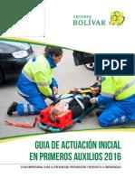 A2 - GUIA DE ACTUACION INICIAL EN PRIMEROS AUXILIOS 2016