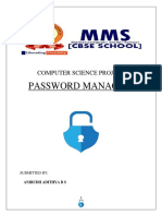 Password Manager File