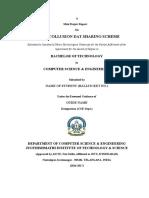 B.Tech mini project document template
