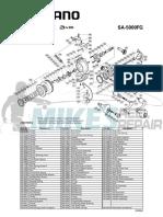 Shimano_Sustain_SA5000FG_Schematic