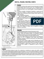 Banda pradera frontera y puerto MATERIAL PARA CUADERNO