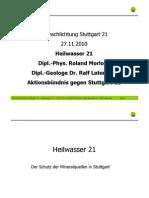 Stuttgart 21 Schlichtung - [8] 2010-10-27 - Roland Morlock, Ralf Laternser