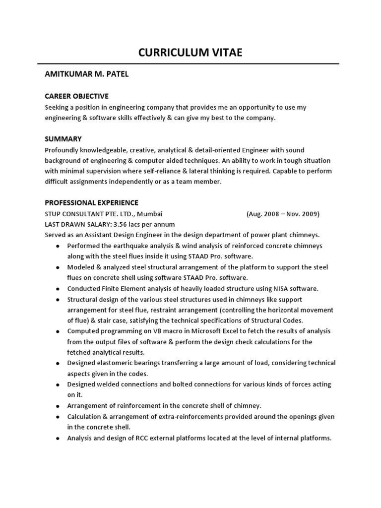 Dorable Pranav Mistry Resume Illustration - Professional Resume ...