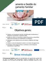 planeamento e gestão do orçamento familiar