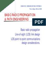 B1 Radio Propagation & LOS Comm [Compatibility Mode]