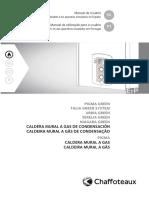 Manual del usuario caldera