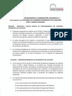 Acuerdo Parlamentario Unidas Podemos-PSOE