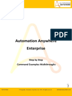 Automation Anywhere Enterprise Walkthrough