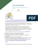 Comunicación Paraverbal-paralinguistica