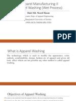 Apparel Washing(Wet process)