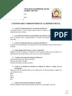 CUESTIONARIO DE BASE DE DATOS II