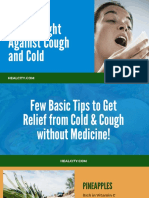 How to Fight Against Cough Cold Without Medicine