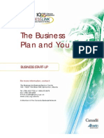 The Business Plan and You