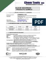 Desengrasante – CHEMSOLV FG - CHEM TOOLS
