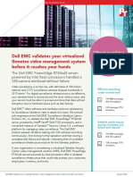 Dell EMC validates your virtualized Genetec video management system before it reaches your hands