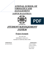 student result managemnet project report