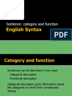category and function
