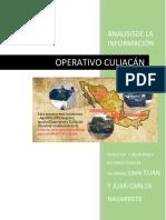 OPERATIVO CULIACAN CORRECIÓN