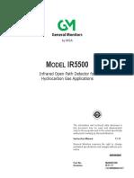 IR5500 Manual
