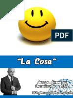 Jorge Jimenez Desarrollo pnl talle La-Cosa-1.0-JJ-Networker-2014