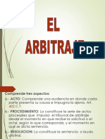 PROCEDIMIENTO DE ARBITRAJE DERECHO LABORAL GUATEMALA