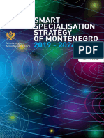 Smart Specialisation Strategy of Montenegro 2019-2024