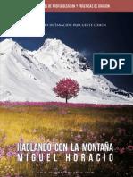 Hablando a la montaña Miguel Horacio