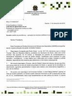 Comissão de Direitos Humanos e Minorias envia documento ao TCU sobre saúde do DF