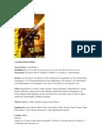 Fichas de Wachtmen RPG