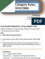 Drug Categorizatio RULE