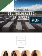 Memorial Del Holocausto en Berlin